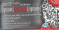 Qr 5sec codes