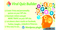 Quiz viral builder plugin wordpress