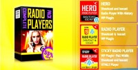 Radio html5 players bundle plugins wordpress