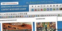 Responsive easyvideo shortcodes embeds video