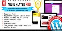 Responsive html5 audio player plugin wordpress pro