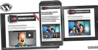 Responsive jquery youtube wordpress for playlist