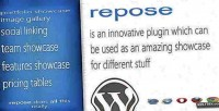 Showcase repose for wordpress
