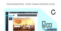 Signage digital wordpress plugin