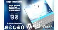 Ssplayer wordpress plugin player sound