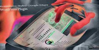Styled responsive google plugin wordpress maps