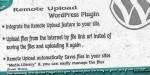 Upload remote wordpress plugin