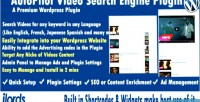 Video autopilot plugin engine search