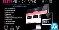 Video elite plugin wordpress player