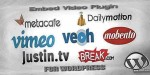 Video embed wordpress for plugin