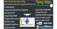 Video flying for wordpress keep watching flying video by drone n scrolling while