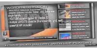 Video html5 plugin wordpress gallery