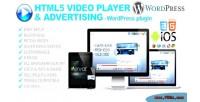 Video html5 player wordpress for advertising