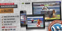 Video image fullscreen plugin wordpress background