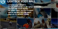 Video lightbox plugin wordpress wall