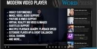 Video modern wordpress for player