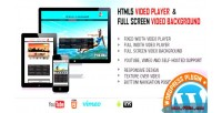 Video player fullscreen video plugin wp bgd.