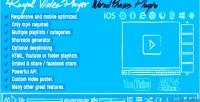 Video royal plugin wordpress player