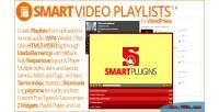 Video smart playlists