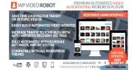 Video wordpress robot plugin