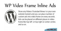 Video wp ads inline frame