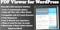 Viewer pdf for wordpress