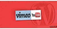 Vimeo wordpress plugin popup youtube