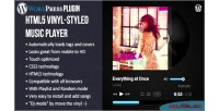 Vinyl html5 music plugin wp player