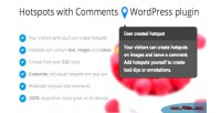 With hotspots plugin wordpress comments