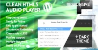 Wordpress clean html5 audio playlist with player