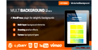 Wordpress multibackground plugin