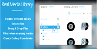 Wp real media library uploads your organize
