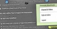 Youtube wordpress plugin anywhere channel