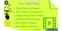 Youtube wp youtube from videos