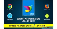 Mega wp push notifications