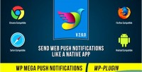 Mega wp push notifications