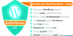 Authenticator wordpress v1.0