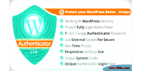Authenticator wordpress v1.0