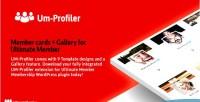 Cards member gallery ultimate extention plugin community member