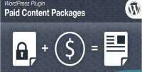 Content paid packages