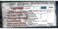 Guest wordpress posting plugin