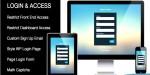 Login custom plugin wordpresss access