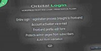 Login orbital login plugin wordpress register