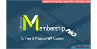 Membership ultimate plugin wordpress pro