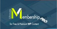 Membership ultimate plugin wordpress pro