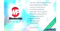 Membership wp
