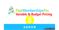 Memberships paid pro pricing budget variable