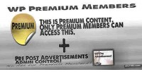 Premium wp members admin advertisements pre