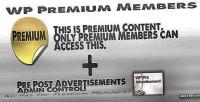 Premium wp members admin advertisements pre