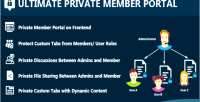 Private ultimate member portal